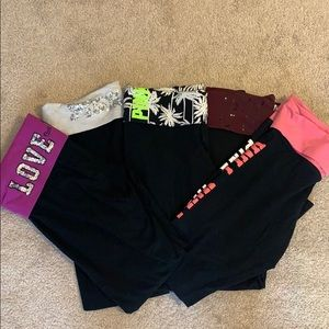 Pink Victoria Secret Yoga bundle